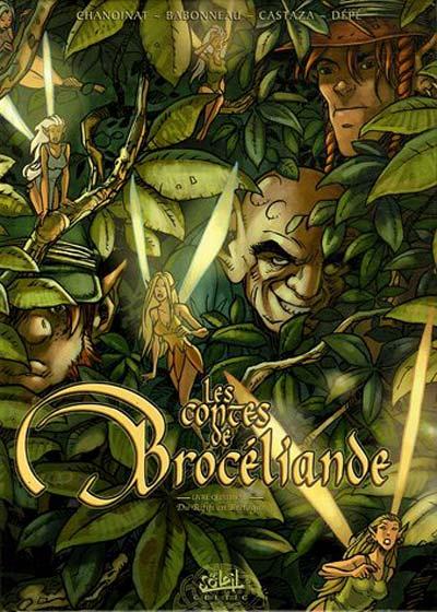 Couverture de Les contes de Brocéliande -4- Du rififi en Bretagne