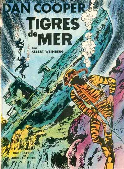 Couverture de Dan Cooper (Les aventures de) -12- Tigres de mer