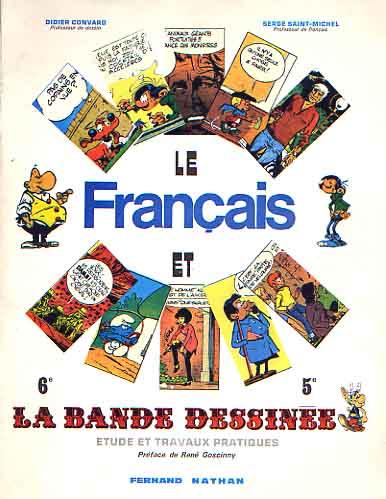 Couverture de (DOC) Études et essais divers - Le Français et la bande dessinée