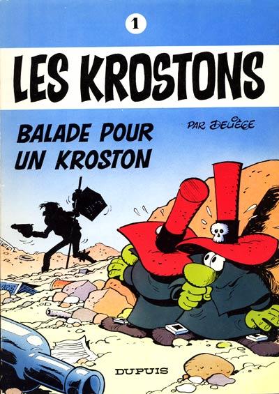Couverture de Les krostons -1- Balade pour un Kroston