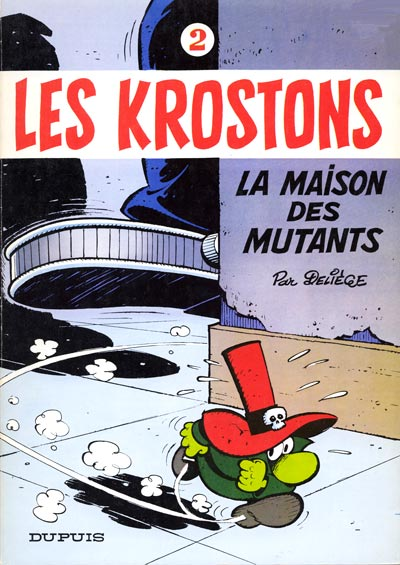 Couverture de Les krostons -2- La maison des mutants