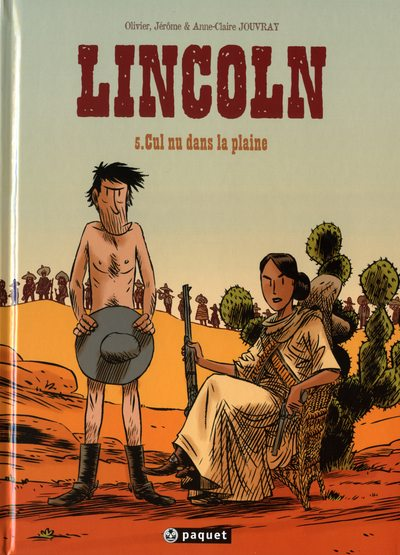 Couverture de Lincoln -5- Cul nu dans la plaine