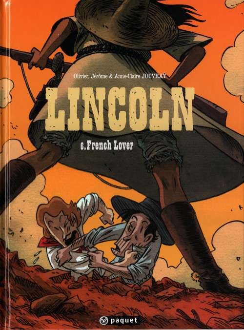 Couverture de Lincoln -6- French Lover