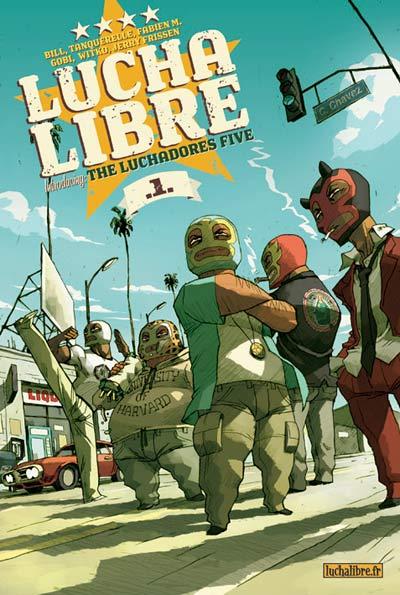 Lucha Libre tome 1 et 2