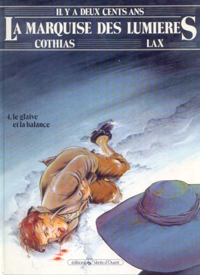 La Marquise des Lumières Tome 04