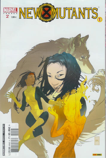 Couverture de X-Men (Maximum) -2- New mutants 1