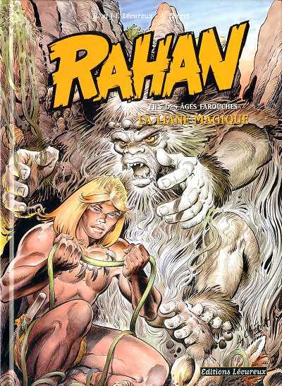 couverture de rahan 11e srie lcureux 6 la liane magique - Le Mariage De Rahan