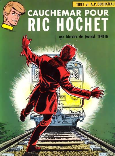 Couverture de Ric Hochet -11- Cauchemar pour Ric Hochet