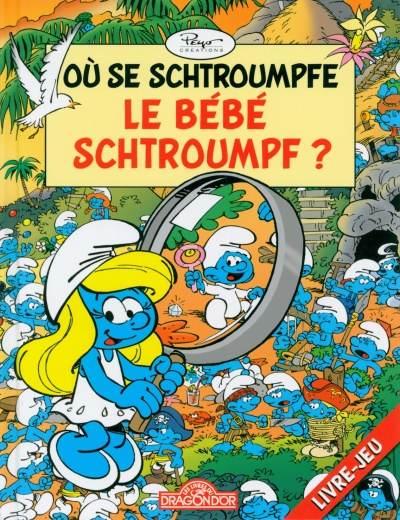 Les schtroumpfs jeux 2lj3 o se schtroumpfe le b b - Schtroumpf bebe ...