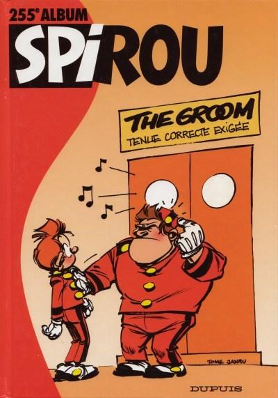 Couverture de (Recueil) Spirou (Album du journal) -255- Spirou album du journal