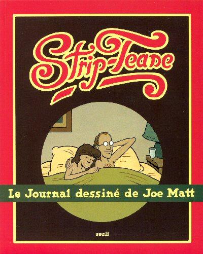 Couverture de Strip-tease - Le journal dessiné de Joe Matt