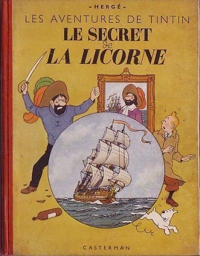 Couverture de Tintin (Historique) -11A20- Le secret de la Licorne