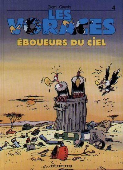Couverture de Les voraces -4- Eboueurs du ciel