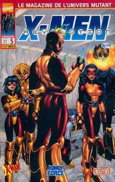 Couverture de X-Men Révolution -5- X-Men Révolution 5
