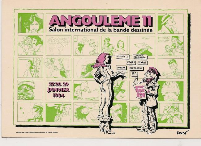 Forest jean claude para bd for Salon de la bd angouleme