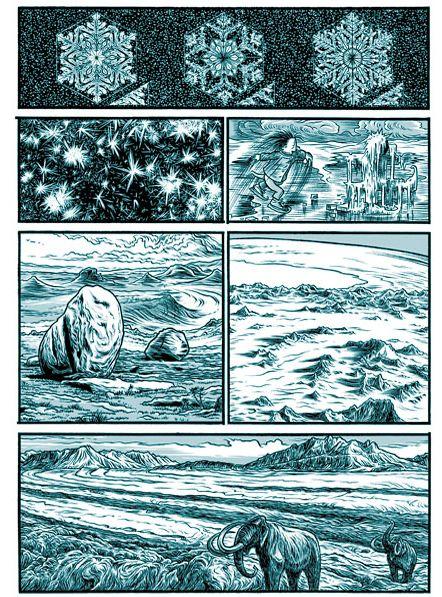 Extrait d'Alpha...directions, de Jens Harder