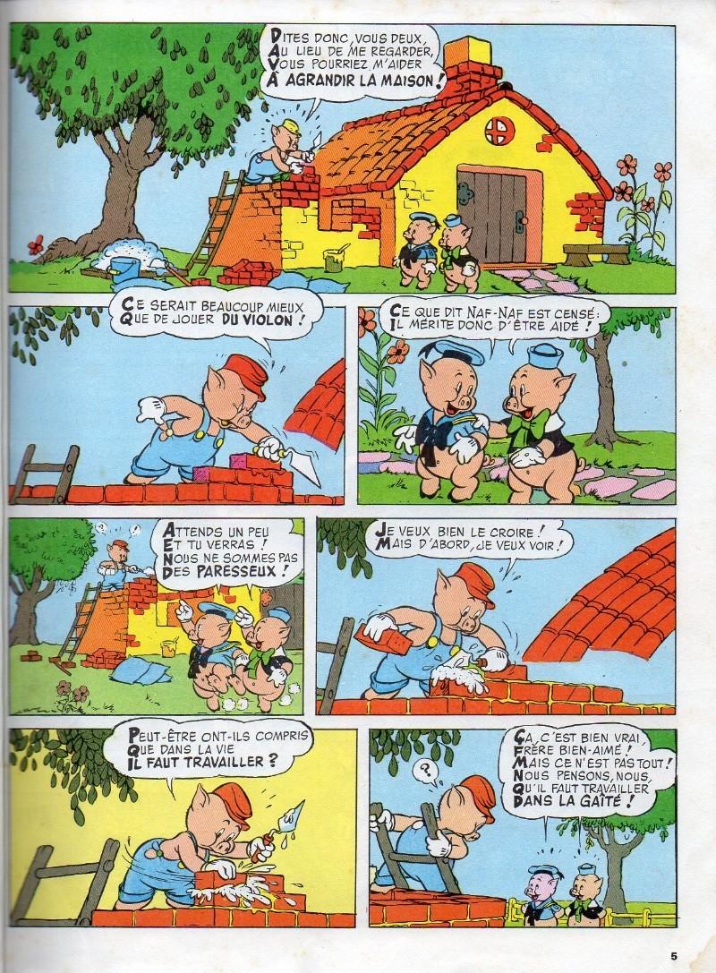 Les trois petits cochons bd informations cotes - Dessin anime les 3 petit cochons ...