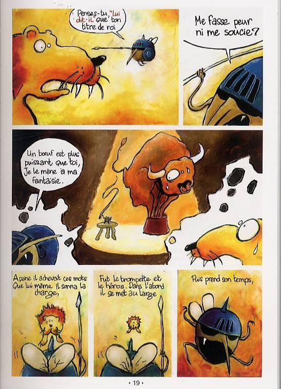 Poèmes en bandes dessinées- Jean de la fontaine Les fables ...