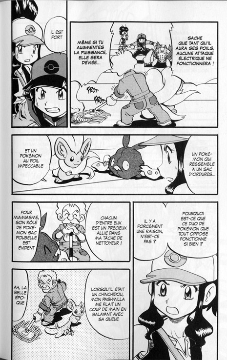 Pok mon noir et blanc 2 tome 2 - Pokemon noir et blanc personnage ...