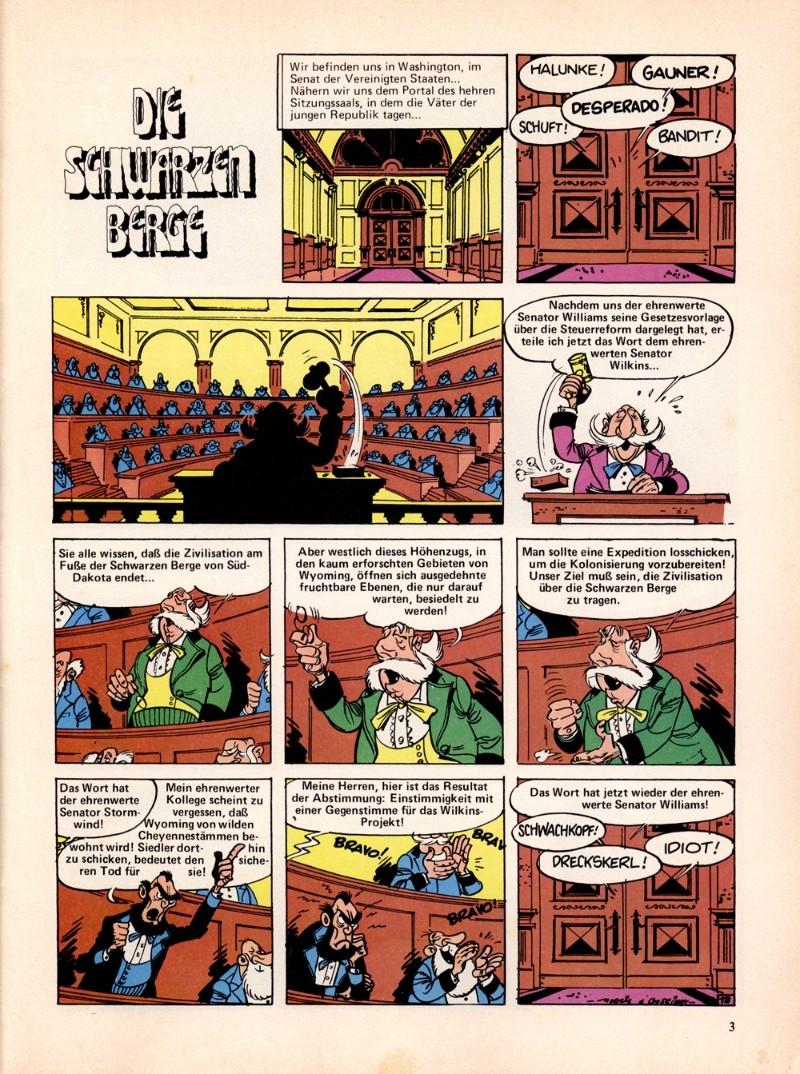 LUCKY LUCKY LUKE DIE SCHWARZEN BERGE.
