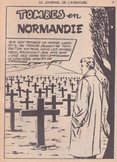 Le journal de l 39 aventure 13 tombes en normandie - Journal en normandie ...
