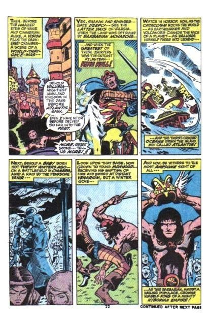 Extrait de conan the barbarian 1970 22 the coming of conan