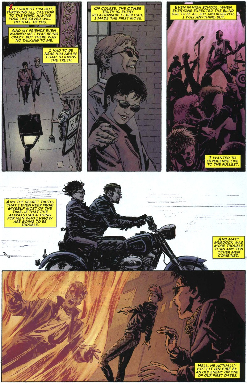 DAREDEVIL #94 Marvel 2007  Brubaker and Weeks  ROMITA SR COVER  COMB POST