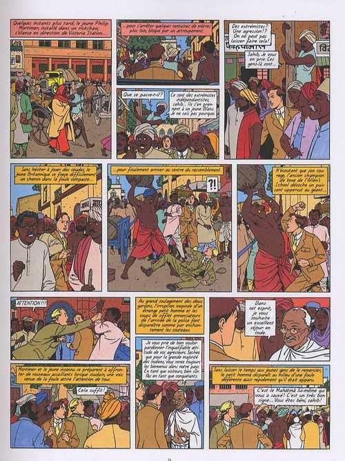 Blake et mortimer 16 les sarcophages du 6e continent - Blake et mortimer la porte du druide ...