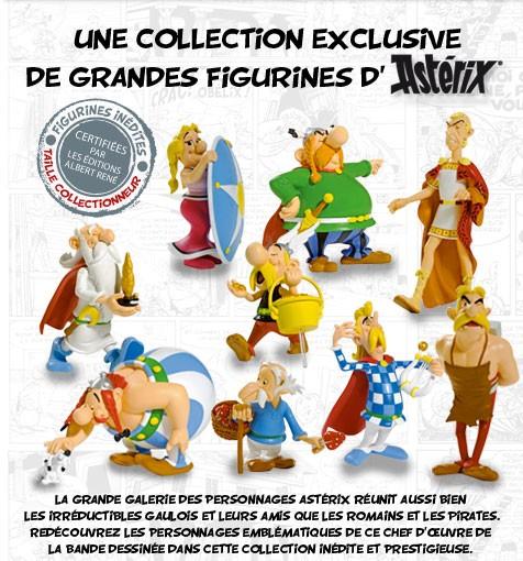 Ast rix collection hachette la grande galerie des - Personnage asterix et obelix ...