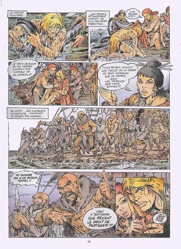 extrait de rahan 11e srie lcureux 9 la horde des bannis - Le Mariage De Rahan