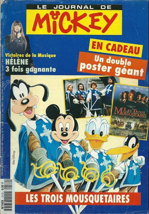 Mickey le journal de - Mickey les 3 mousquetaires ...