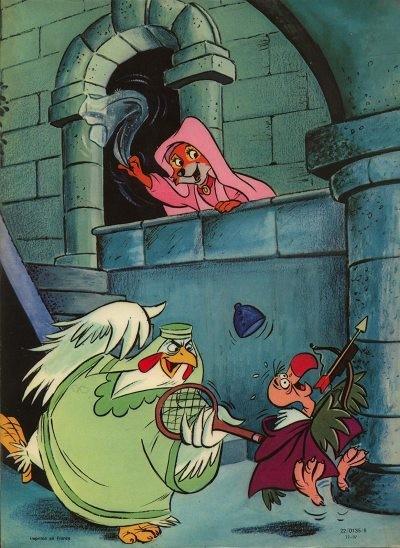 Walt Disney présente 1 Robin des bois ~ Walt Disney Robin Des Bois
