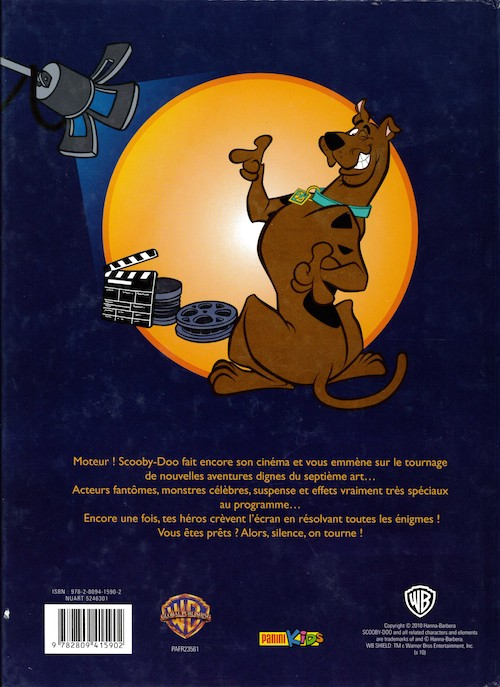 scooby doo panini 7 silence on tourne. Black Bedroom Furniture Sets. Home Design Ideas