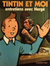 (AUT) Hergé -1- Tintin et moi entretiens avec Hergé