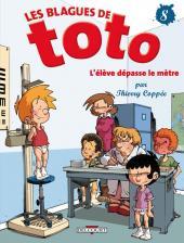 Les blagues de Toto -8- L'élève dépasse le mètre