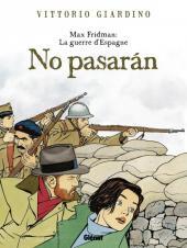Max Fridman (Les aventures de) -INT- La guerre d'Espagne - No pasarán