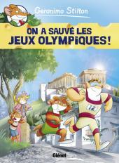 Geronimo Stilton -6- On a sauvé les Jeux Olympiques !