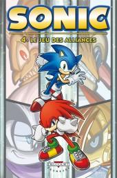 Sonic (Delcourt) -4- Le Jeu des alliances