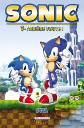Sonic (Delcourt) -3- Arrière toute !