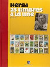 Tintin - Divers -52TL- Hergé, 25 timbres à la une