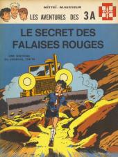 3 A (Les aventures des) -3- Le secret des falaises rouges