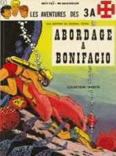 3 A (Les aventures des) -5- Abordage à Bonifacio