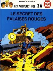 3 A (Les aventures des) -3c- Le secret des falaises rouges