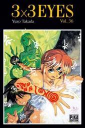 3x3 Eyes -36- Volume 36