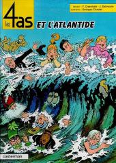 Les 4 as -33- Les 4 as et l'Atlantide