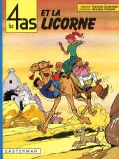 Les 4 as -18- Les 4 as et la licorne