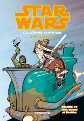 Star Wars - Clone Wars Episodes -10- Jedi, clones et droïdes