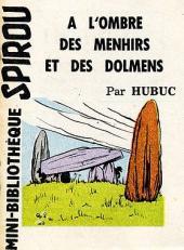 A l'ombre des menhirs et des dolmens - Tome 1MR1253