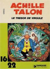 Achille Talon (16/22) -1195- Le trésor de Virgule