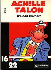 Achille Talon (16/22) -11a- Achille Talon n'a pas tout dit